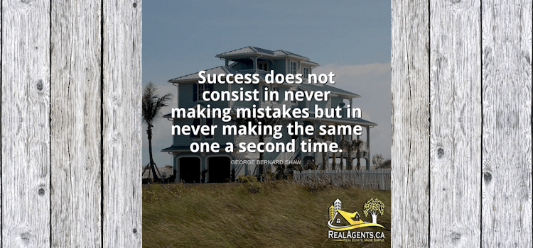 Success Does Not Consist In Never Making Mistakes But In Never Making The Same One A Second Time