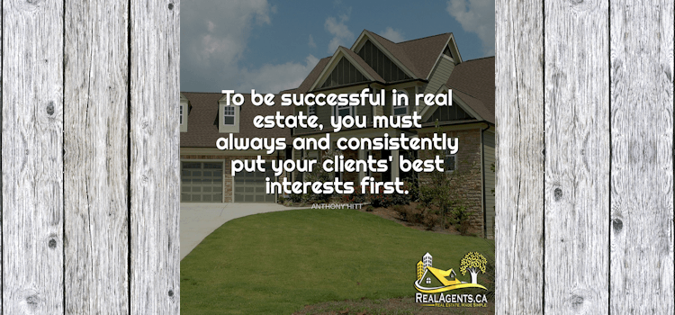 To Be Successful In Real Estate